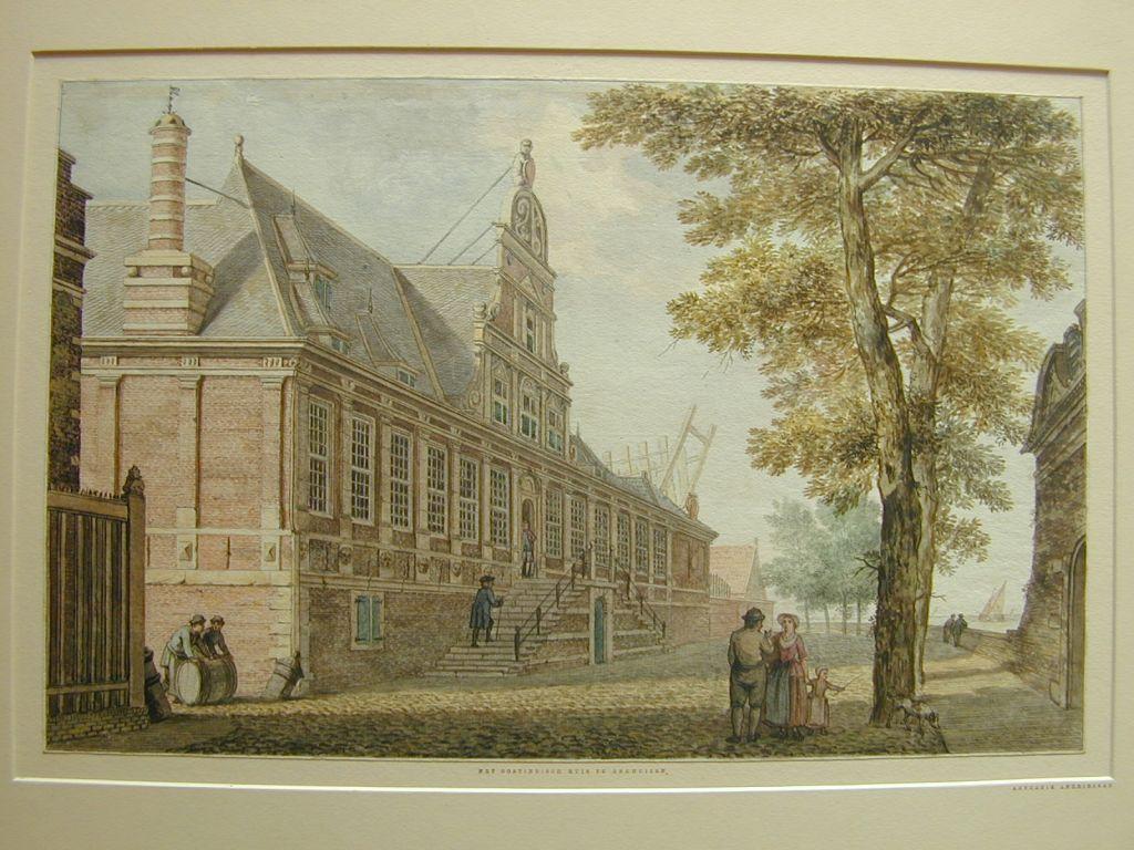 Het Oostindisch Huis in Enkhuizen.