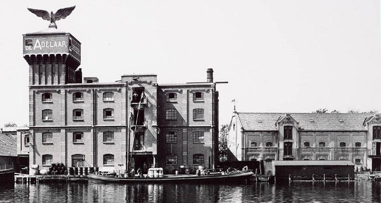 Zeepziederij De Adelaar te Wormerveer in 1912