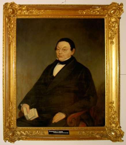 Burgemeester Siemers, geschilderd rond 1850.