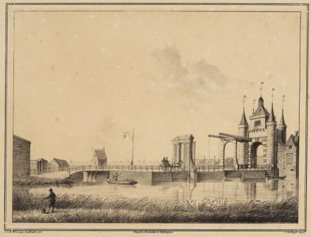 Friese poort in Alkmaar.