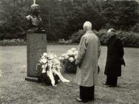 Herdenking Carolus Linnaeus, 23 mei 1957.