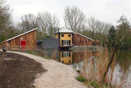 De gebouwen van de Nieuwe Nes.
