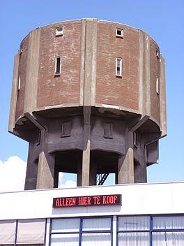 Watertoren aan Dokweg in IJmuiden