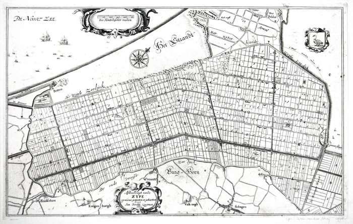 Kaart van Zoutman, 1664.
