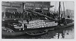 Vis bestemd voor export.