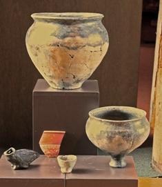 Inheems aardewerk Romeinse tijd.