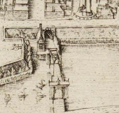 De in 1573 gebouwde Kennemerpoort.