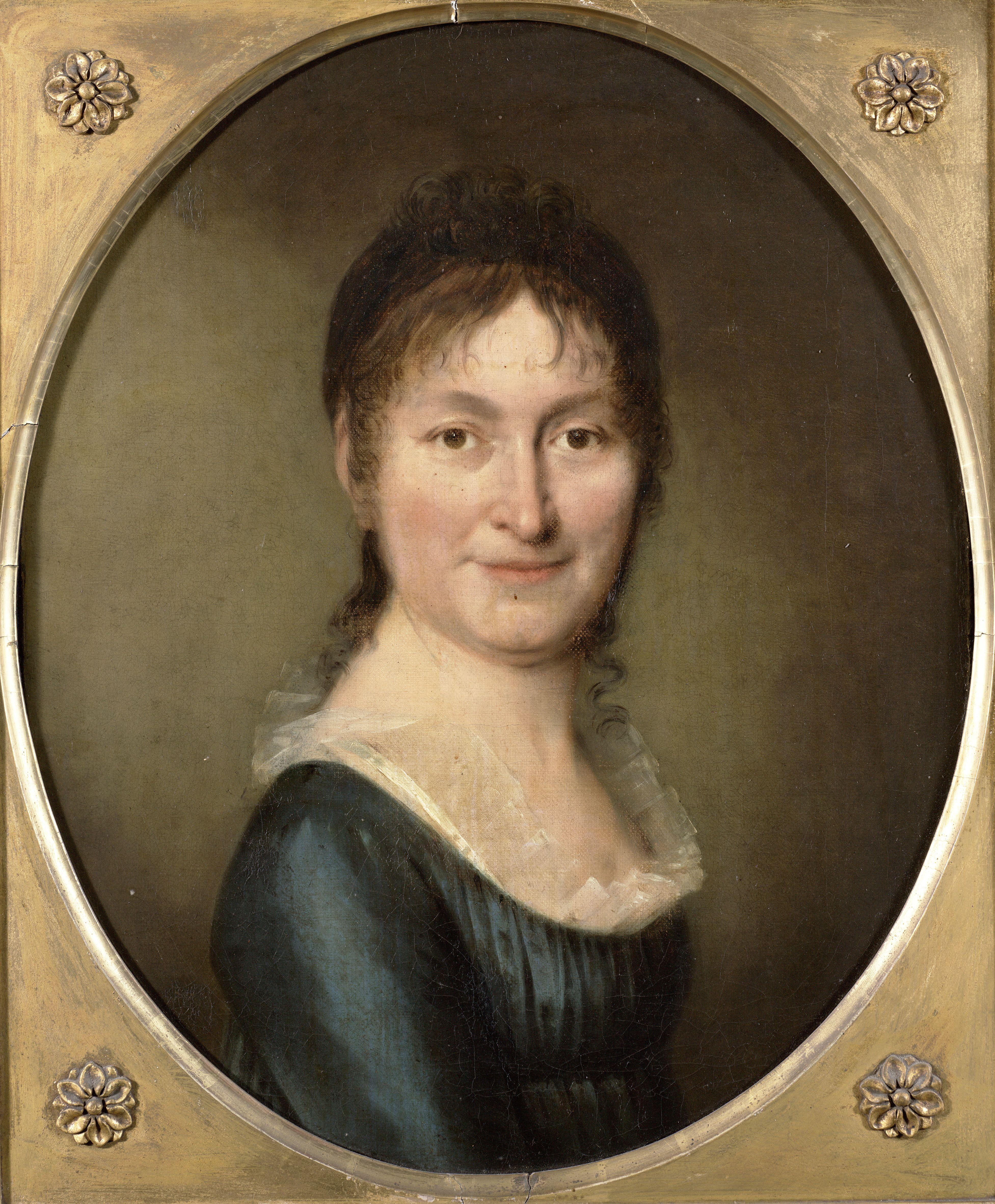 Schilderij 'Mooie Jeannette'