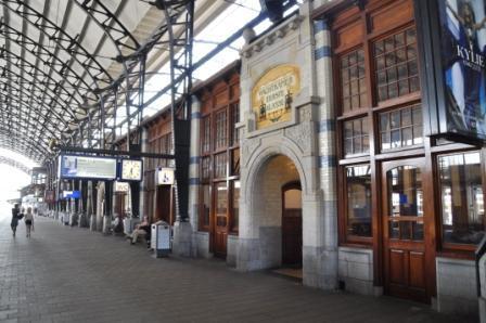 Centraal Station, Haarlem.