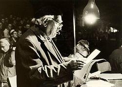 Jos de Klerk, musicus en journalist.