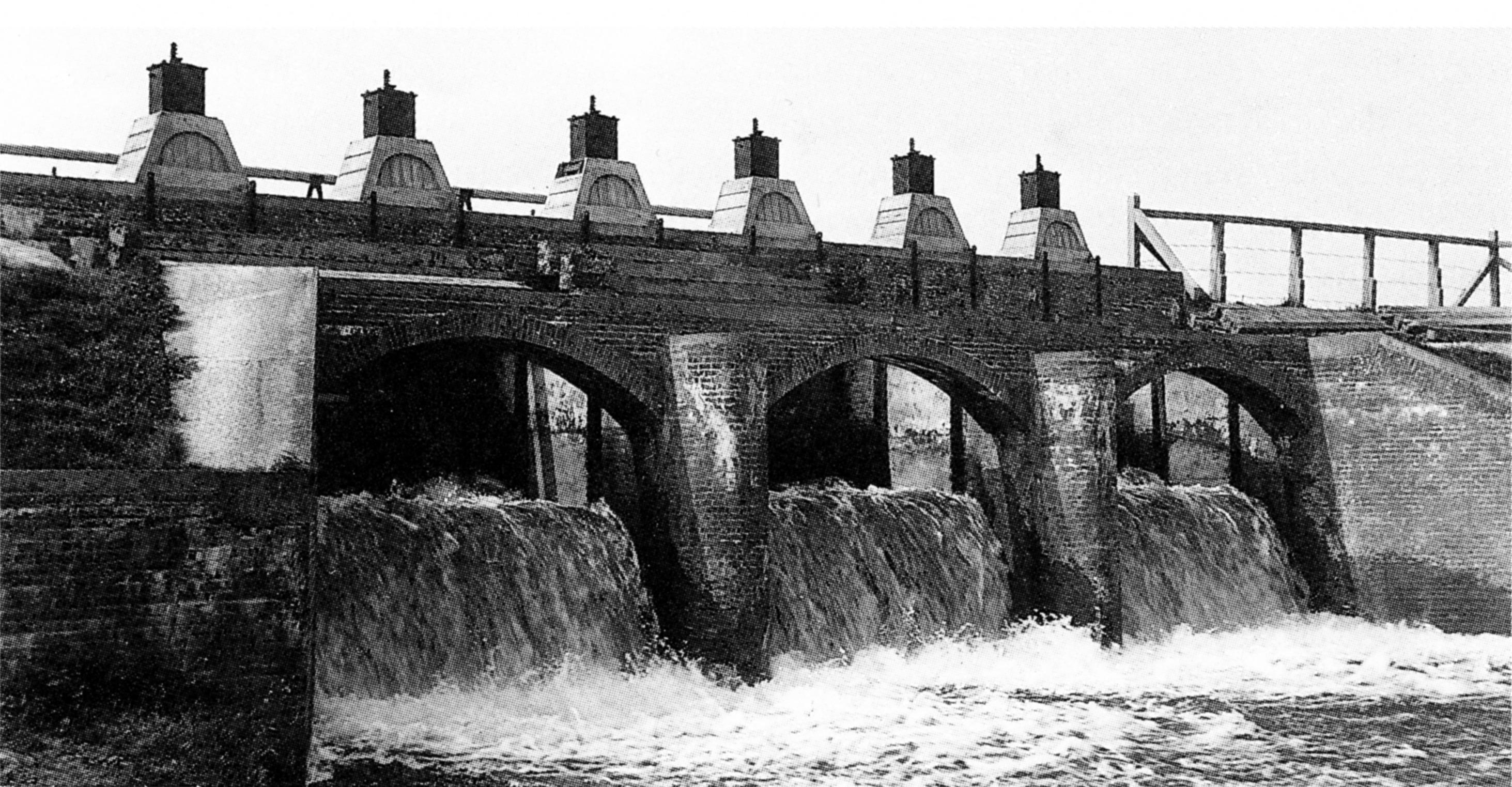 Inundatiesluis zuidelijke Beemsterringdijk.