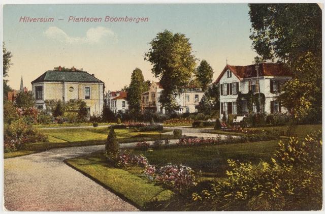 Plantsoen Boombergen in Hilversum.