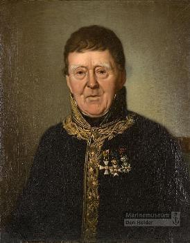 Ingenieur Jan Blanken, de ontwerper van het Noordhollands Kanaal.