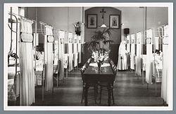 Ziekenhuis de Mariastichting, vrouwenzaal.