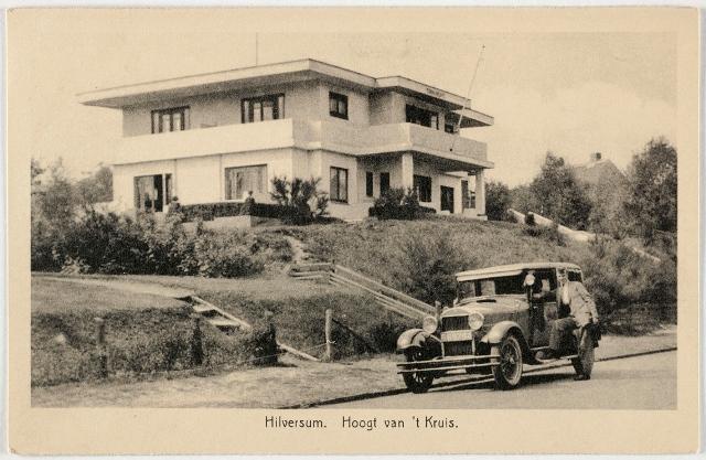 Villa Hoogt van 't Kruis in Hilversum.
