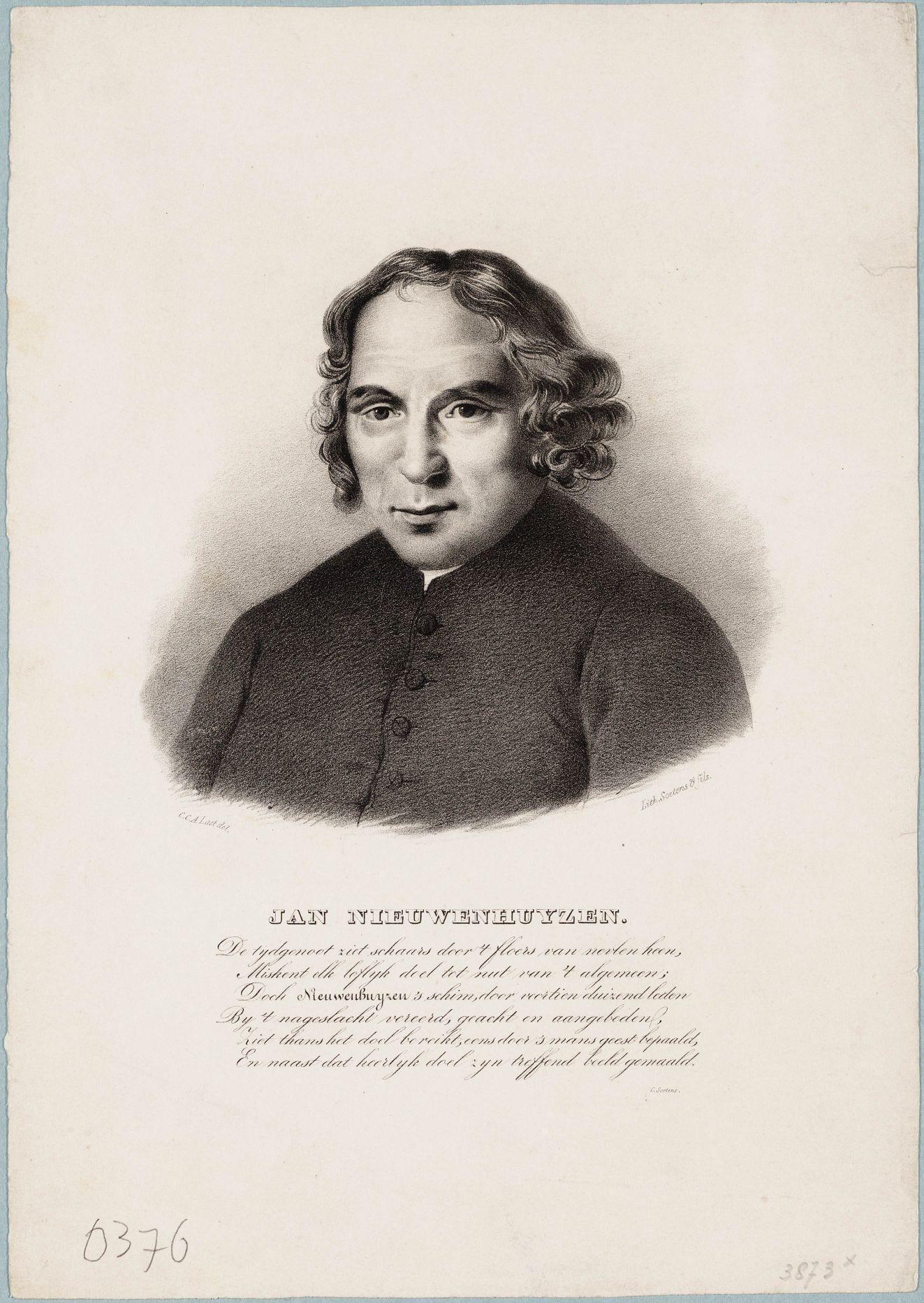 Portret van Jan Nieuwenhuyzen