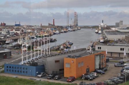 Visafslag, Vissershaven.