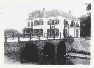 Het landhuis 't Oude Hof te Bergen