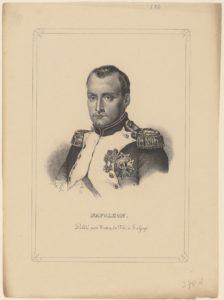 Keizer Napoleon bezoekt Holland