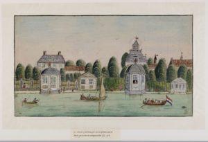 Amsterdammers bouwen buitenhuizen aan Amstel