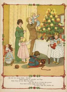 De eerste Amsterdamse kerstboom was Duits