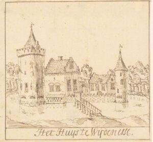 Het verdwenen kasteel bij Wijdenes