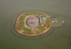 Fort aan het Pampus niet meer 'blok-aan-been-fort'