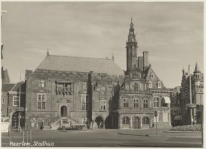 De Stadhuistoren van Haarlem