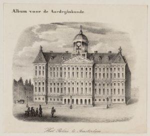 Amsterdam die grote stad, die is gebouwd op palen