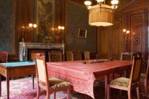 De inrichting van de Ovale Zaal van Teylers Museum