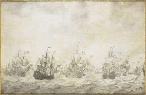 11 juni 1666: begin Vierdaagse Zeeslag