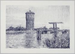 De watertoren van Assendelft