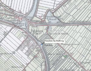 Damsluizen in de Haarlemmerringvaart bij Halfweg en Vijfhuizen