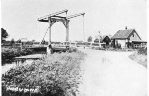 Ankeveen: De oude sluis