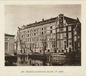 Oude Turfmarkt 127: hier zetelt de 'Hoeder van de Gulden'.