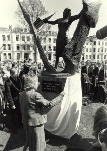 Kenaupark: monument voor vrouwelijk symbool van verzet