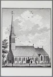 De Ruïnekerk te Bergen