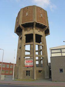 Watertoren aan de Dokweg in IJmuiden