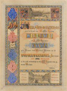 21 april 1879: Willem III en Emma in Amsterdam