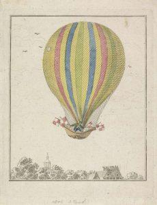 Teylers Museum belicht luchtballon van alle kanten