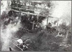 Legendarische brand van het Zaans Veem in 1954