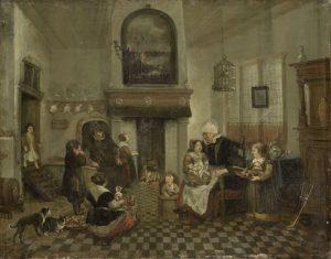 Sinterklaasfeesten op doek