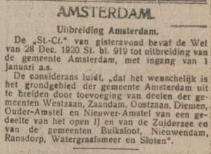 In de armen van Amsterdam