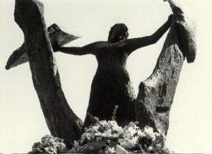 Monument voor Hannie Schaft in het Kenaupark