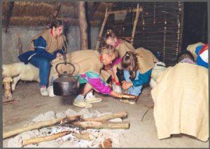 Beleef het verleden in een bronstijdboerderij