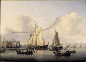 22 mei 1819: eerste oversteek stoomschip Atlantische Oceaan