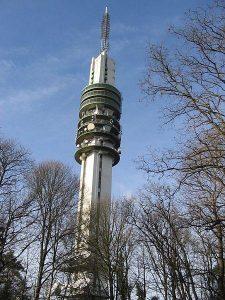 De skyline van Hilversum