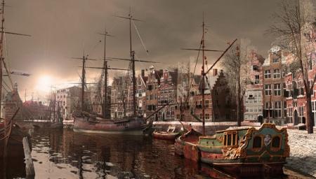 kort Indiaas fantasie in Hoorn