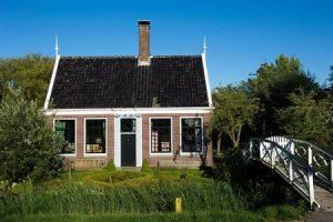 Koopmanswoning uit de 18e eeuw stond in Koog a/d Zaan