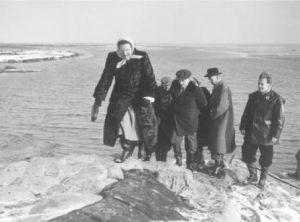 De ramp van 1953 op Texel